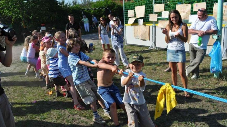 Festyn z okazji Dnia Dziecka na terenie schroniska w Nekielce