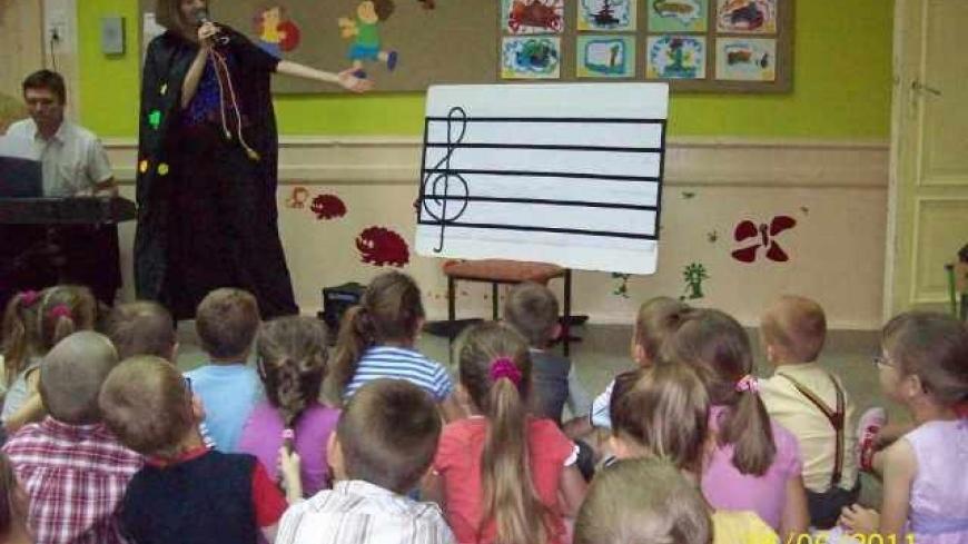 Klub Małego Muzyka w Przedszkolu