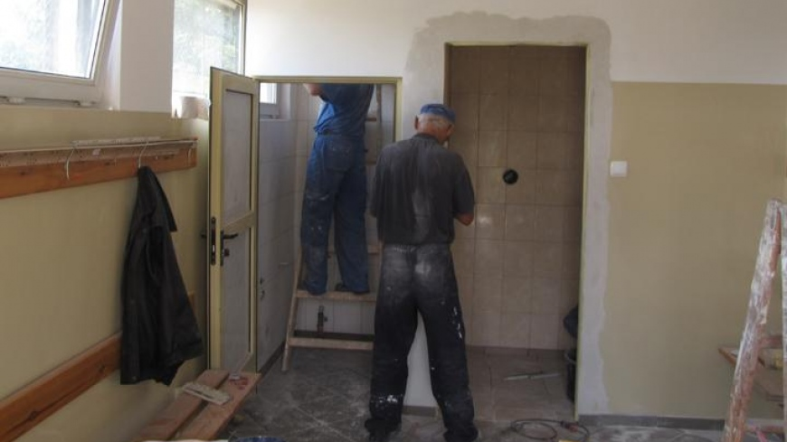 Remont zaplecza szatniowo-sanitarnego boiska sportowego w Nekli