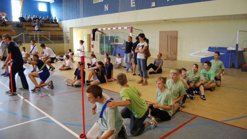 Dzień Patrona w Gimnazjum w Nekli