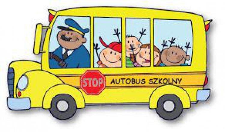 Grafika autobusu szkolnego