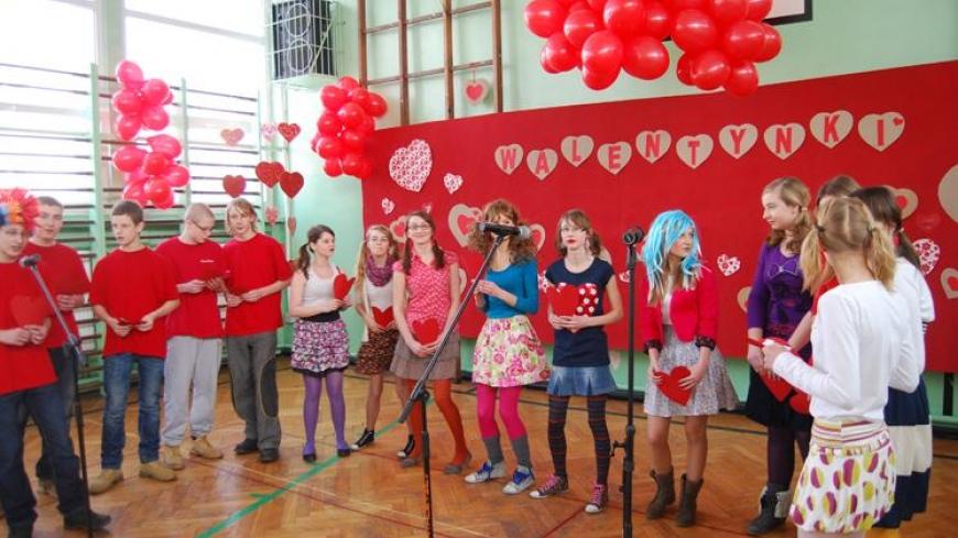 Walentynki w Gimnazjum w Nekli