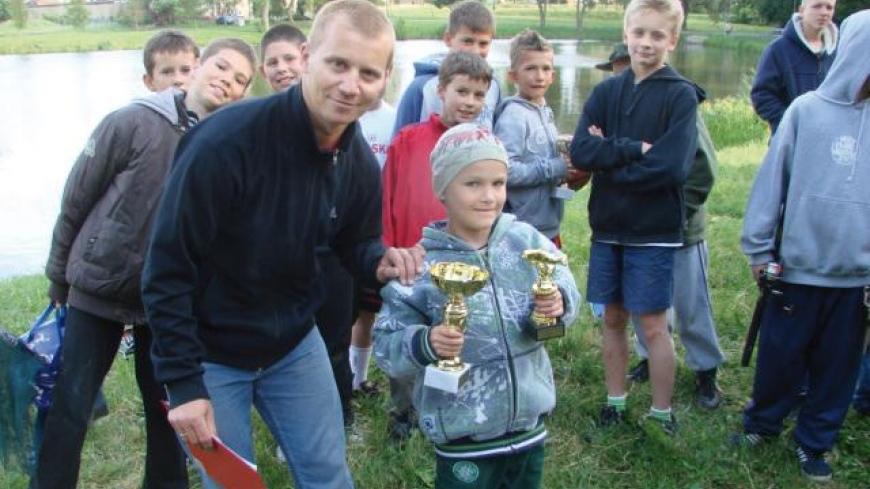 V Mistrzostwa Szkoły Podstawowej w Wędkarstwie