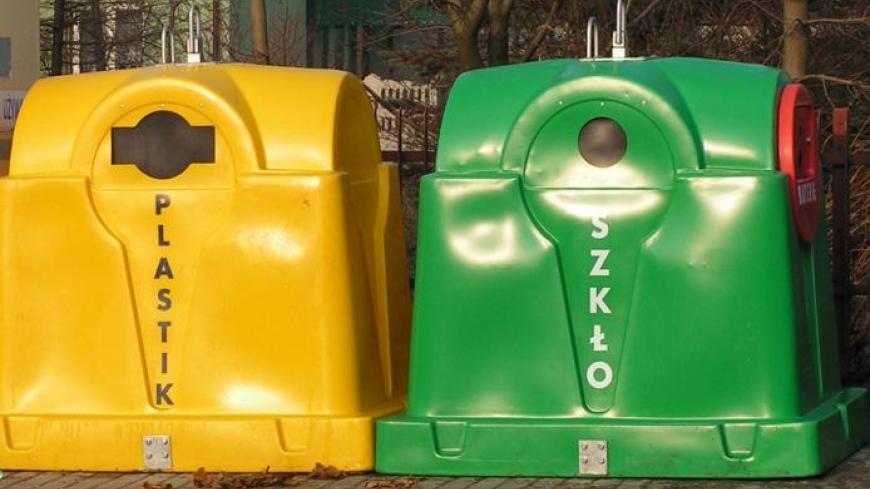 Likwidacja pojemników do selektywnej zbiórki szkła i plastików